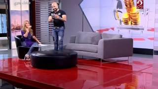 كريم مأمون يضع الإعلامية سهام صالح في ورطة بسبب «سيلفي»