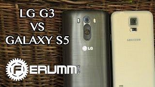 LG G3 vs Samsung Galaxy S5 подробное сравнение. Большая битва LG G3 vs Galaxy S5 от FERUMM.COM