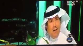 """بالفيديو.. نشطاء يسخرون من خطأ """"محمد عبده"""" في النشيد الوطني"""