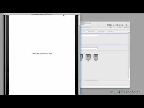 Learn Xcode 4 Tutorial iOS iPad iPhone 1.12 Intro to SplitView App