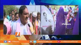 Palakurthi TRS MLA Candidate Errabelli Dayakar Rao Face to Face on Election Campaign | iNews - INEWS