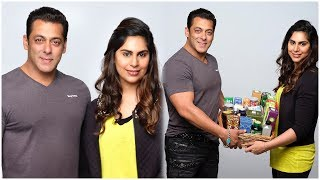 Upasana Special Treat For Salman Khan | Ram Charan Wife Upasana Promoting Salman Khan - RAJSHRITELUGU