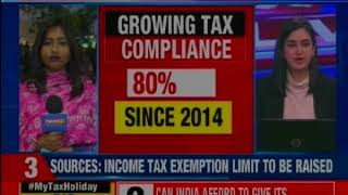 Will govt. provide big relief to middle class? Time for mega #MyTaxHoliday? - NEWSXLIVE