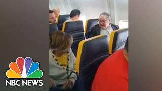 Video Captures Ryanair Passenger's Racist Rant At Black Woman | NBC News - NBCNEWS