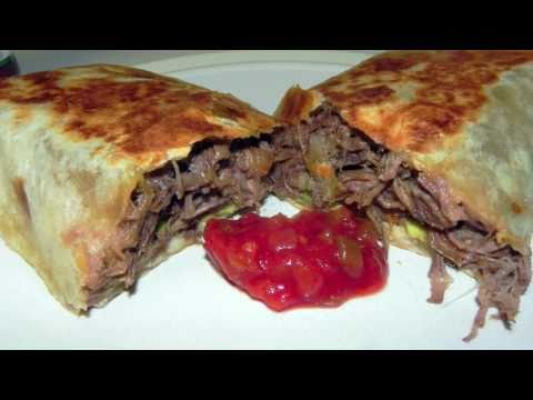 Beef Bean and Cheese Burrito Recipe - Awesome Mexican Food