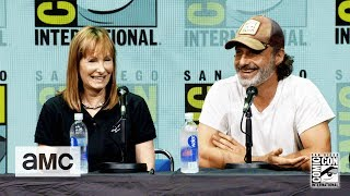 The Walking Dead: 'Andrew Lincoln's on His Accent' Comic-Con 2017 Panel - AMC