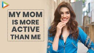 "Kriti Sanon: ""My Mom tells me about My Fans' Birthdays""| Geeta Sanon | Luka Chuppi - HUNGAMA"