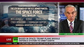 'People making lots of money on this': Trump plans missile defence system to orbit Earth - RUSSIATODAY