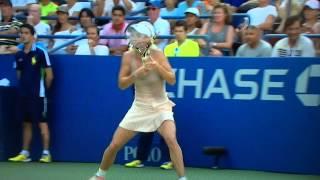 جريدة التحرير | بالفيديو.. موقف محرج للاعبة التنس الدنماركية كارولين فوزنياكي -