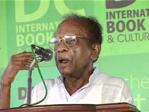 SUKUMAR AZHIKODE AT DC BOOKS INTERNATIONAL BOOKS FAIR