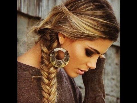 ☆Recogidos con trenzas☆ ¡¡Peinados 2014 faciles y bonitos!!
