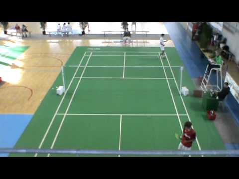 Badminton - Nationale 2 - Bordeaux USB2 / Cholet - Simple homme 2