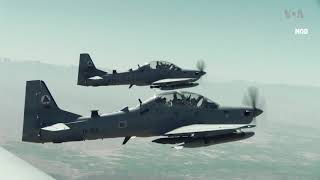 US-Trained Afghan Pilots Conduct First Nighttime Airstrikes - VOAVIDEO