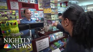 Mega Millions Jackpot Spiraling Towards $1 Billion | NBC Nightly News - NBCNEWS