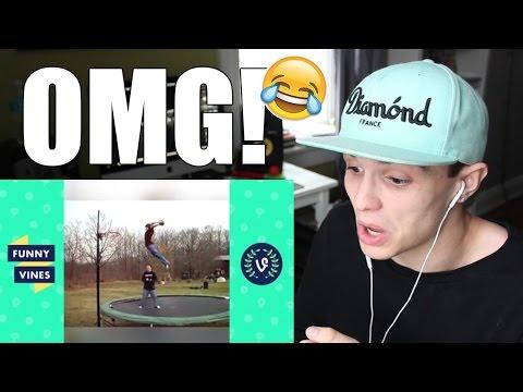 FUNNIEST trampoline fails!