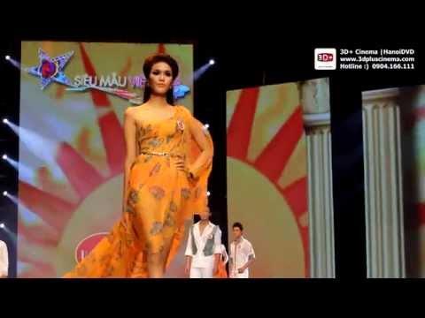 Siêu Mẫu Việt Nam 2012 - Trình diễn của thí sinh