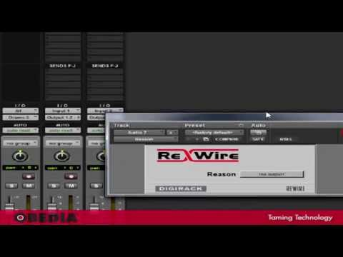 Rewire Reason and Protools 9