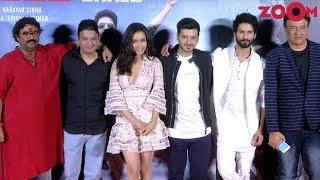 Stars Shahid Kapoor, Shraddha Kapoor & Divyendu Sharma At 'Batti Gul Meter Chalu' Trailer Launch - ZOOMDEKHO