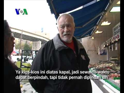 Pasar Ikan di Washington DC - Liputan Feature VOA Januari 2012
