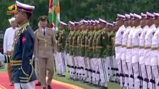 Ceremonial Welcome for PM Modi At Nay Pyi Taw In Myanmar | Mango News - MANGONEWS