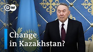 Kazakhstan's Nazarbayev steps down as President after 30 years in power | Dw News - DEUTSCHEWELLEENGLISH