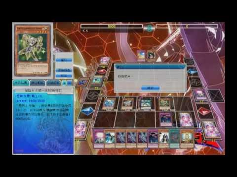 YGO Pro Dueling Star Saraph With Satella Knight 星天使VS AD手抹  by C.S