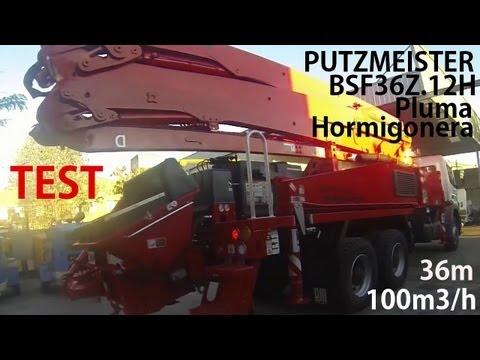 P13 - [2 de 3] - Pluma Bomba Putzmeister BSF36Z.12H - Teknobomba SA