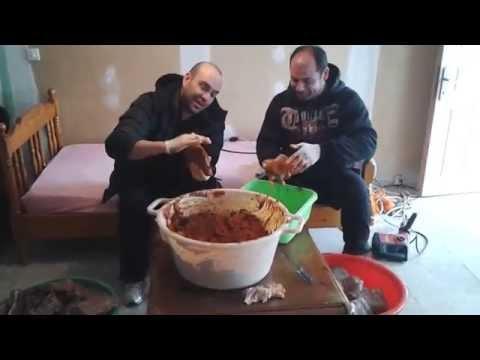 ΠΑΣΤΟΥΡΜΑΣ 26/01/2014 mixalhs & giorgos h dio koympari....