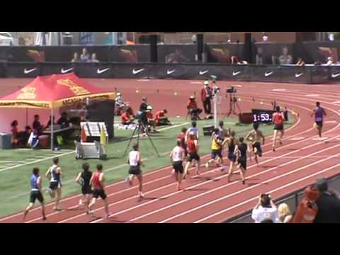 Arcadia Invitational: Boys 800 (Heat 3)