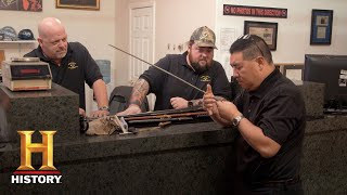 Pawn Stars: Rick Has Chumlee's Swords Appraised (Season 14) | History - HISTORYCHANNEL