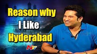 It's Always Nice to be in Hyderabad: Sachin    #SachinABillionDreams    NTV - NTVTELUGUHD