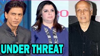 Bollywood Stars under threat  - Bollywood News - ZOOMDEKHO