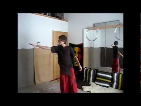1 ball Contact Juggling: Exploration #1