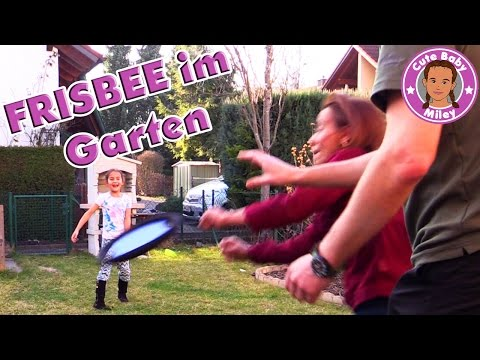 FRISBEE BADMINTON GAME 2 in 1 - ab in den Garten | CuteBabyMiley