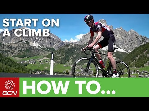 How To Start Riding On A Climb
