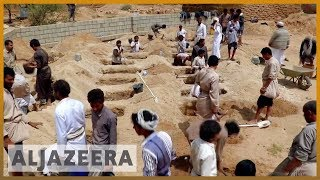 🇾🇪 Funerals held for children killed in school bus attack | Al Jazeera English - ALJAZEERAENGLISH