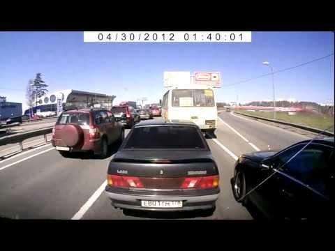 Na Rússia: Ou deixas passar ou levas...