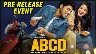 #ABCD Movie Pre Release Event | Allu Sirish | Rukshar Dhillon | Sanjeev Reddy - RAJSHRITELUGU