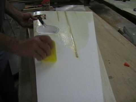 sheeting a foam wing part 4