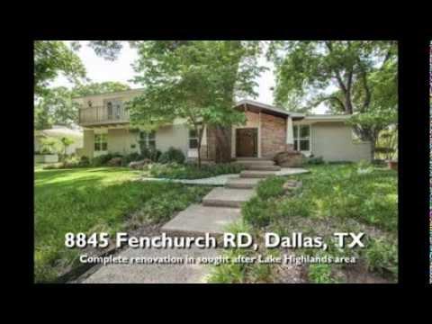 8845 Fenchurch RD-Lake Highlands-Dallas, TX