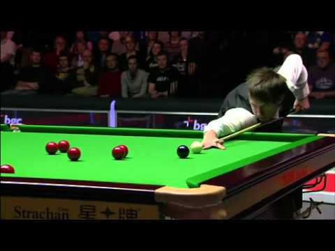 JUDD TRUMP vs STUART BINGHAM UK MASTERS SNOOKER 2012 FRAME 1