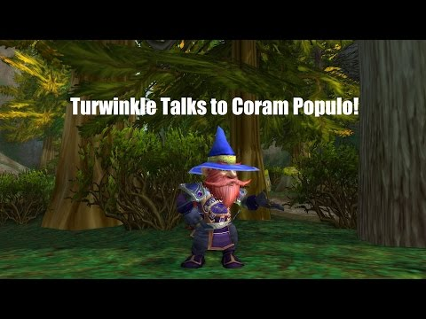 Turwinkle Talks to Coram Populo!