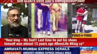 #ArroganceOfPower: Son reveals dad's abuse power - NEWSXLIVE