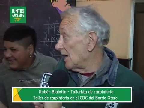 Taller de carpintería en CDC Otero