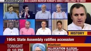 Nation at 9: RSS' direct challenge to Omar - NEWSXLIVE