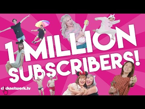 THANKS A MILLION FOR MAKING HISTORY WITH US (1 MILLION SUBSCRIBERS!)