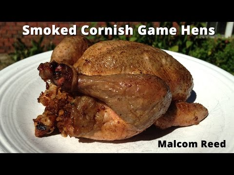 Smoked Cornish Game Hens Recipe | How to Smoke Cornish Hens Malcom Reed HowToBBQRight