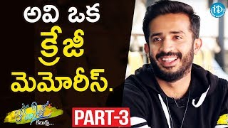 Anchor Ravi Exclusive Interview Part #3 || Anchor Komali Tho Kaburlu - IDREAMMOVIES