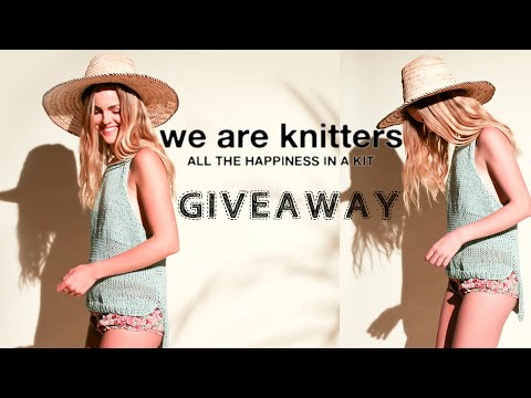(CLOSED) WE ARE KNITTERS KIT GIVEAWAY!!