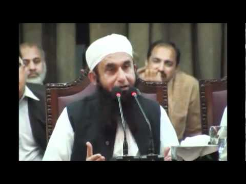 Maulana Tariq Jameel at Punjab University on 10-03-2011 7/8